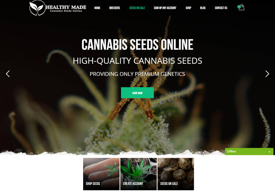 Cannabis Web Design Gallery