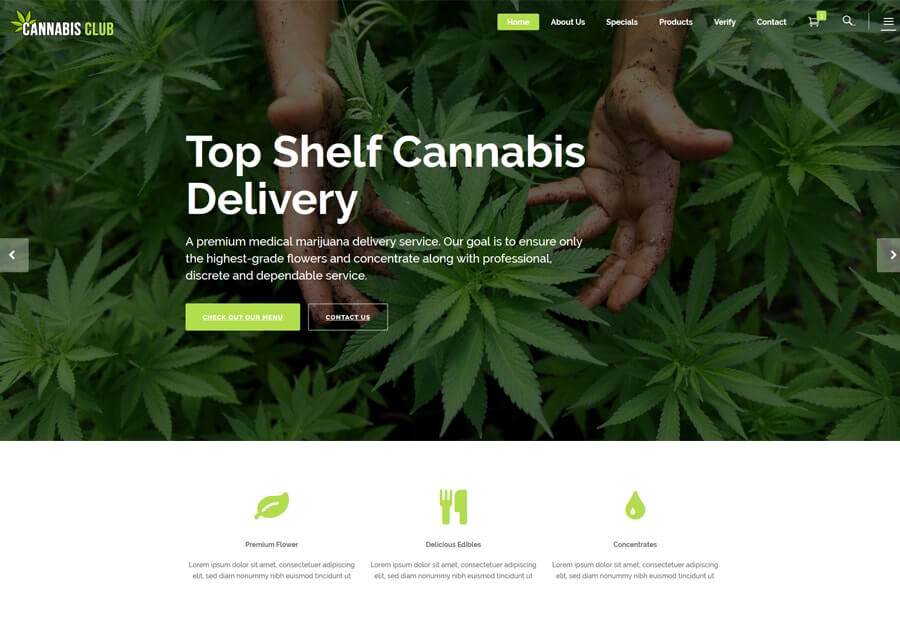 Marijuana Web Gallery