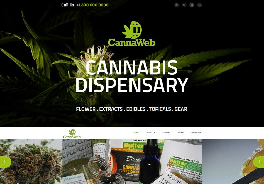 Marijuana Web Design
